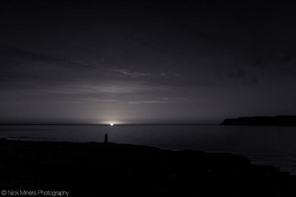 The stroke of midnight, Patreksfjörður